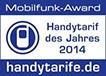 Mobilfunk-Award handytarife.de